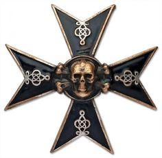 Cross of immortal hussars. Alexandria Hussars regiment. Russian Imperial Army.