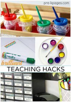 40+ Brilliant Teaching Hacks - Pre-K Pages