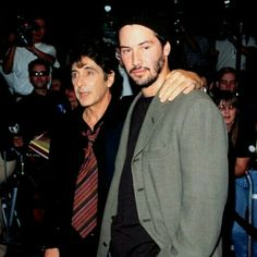 Keanu Reeves and Al Pacino