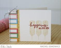 Happiness card by Rachel Izakowicz