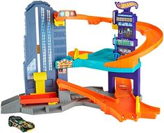 Find big fun in the big city with this exciting play set. Kids will love imagining racing around a set that features multiple levels of push-around play. Ride the elevator to the penthouse suite at...