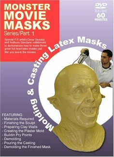 Monster Movie Masks - Molding & Casting Latex Masks *** New and awesome product awaits you, Read it now  : Makeup Tutorial
