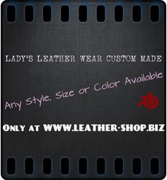 Leather-Shop-Blog.Biz - All about leather wear. - via http://bit.ly/epinner