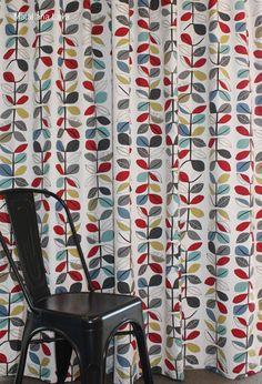 Orla kiely wannabe curtains from curtain studio. Javascript Methods, Lounge Curtains, Div Style, Social Share Buttons, Orla Kiely, Best Web, House Rooms, Basement