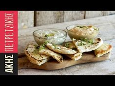 Greek pita bread for souvlaki by Greek chef Akis Petretzikis. Make these soft, freshly baked, homemade Greek pita bread for souvlaki, gyro or just for dipping! Greek Recipes, Raw Food Recipes, New Recipes, Cooking Recipes, Favorite Recipes, Butter Naan Recipe, Greek Pita Bread, Souvlaki Recipe, Breads