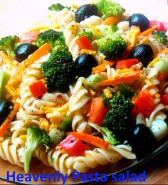 Heavenly pasta salad ~ Top incredible recipes