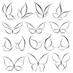 Doodle art design tattoos 32 ideas for 2019 Butterfly Nail Art, Butterfly Logo, Butterfly Tattoos, How To Draw Butterfly, Simple Butterfly Drawing, White Butterfly Tattoo, Butterfly Nail Designs, Butterfly Sketch, Butterfly Painting