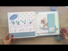 Álbum bebé Dayka - YouTube Baby Scrapbook, Scrapbook Layouts, Mini Photo, Mini Albums, Youtube, Baby Boy, Make It Yourself, Frame, Handmade