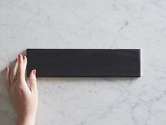 Belconnen Matt Black Subway Tile | TileCloud | Avaliable @ tilecloud.com.au