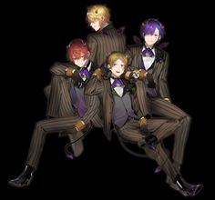 Black Butler Characters, Fictional Characters, Cute Japanese, Vocaloid, Manhwa, Art Reference, Joker, Singer, Fan Art