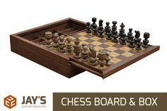 Making a Custom Chess Board & Box | Jays Custom Creations