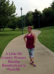 A little bit country: Women's Running Runspirational in Nashville