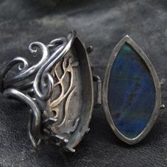 I would like a locket ring. Maybe like this one. You never know when you might need to hide poison in in.