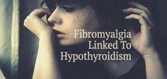 Do you suffer with thyroid issues and have persistant pain in your muscles and ligaments? You might have fibromyalgia as well since they are Thyroid Issues, Thyroid Disease, Thyroid Problems, Thyroid Health, Chronic Fatigue Causes, Chronic Fatigue Syndrome, Chronic Pain, Chronic Illness, Signs Of Fibromyalgia