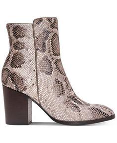 Donald J Pliner Sonoma Block-Heel Booties - Boots - Shoes - Macy's
