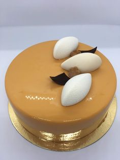 Cremeux Caramel, Entremet Caramel, Individual Cakes, Berry Cake, Banana Oats, Cake & Co, Mousse, Biscuits, Cheesecake