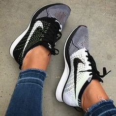 Find new and preloved Nike items at up to off retail prices. Sneakers Fashion, Fashion Shoes, Sneakers Nike, Adidas Shoes, Nike Footwear, Fashion Outfits, Nike Flyknit Racer, Nike Shoes Women Flyknit, Women Nike Shoes
