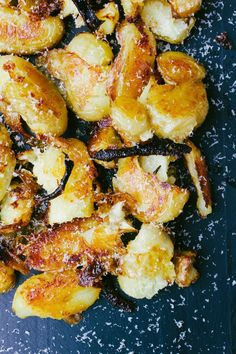 smashed lemon potatoes  |  simple provisions