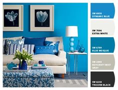 Shades of Blue  Paint colors from Chip It! by Sherwin-Williams