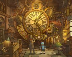 Professor Layton. Is it bad that I cried at the end of this game? ... yeahhh