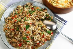 Fried Rice, Ethnic Recipes, Food, Kitchens, Drinks, Meal, Essen, Hoods, Nasi Goreng