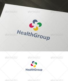 Health Group Logo  #GraphicRiver         Health Group is a logo that can be used by businesses for health, sadul centers, hospitals and clinics, medical clinics, pharmacies, and other related use. Its design is very simple and is easy to configure. Ready to print.     Customizable 100%   CMYK    AI – EPS    Font used Calibri      Created: 11January12 GraphicsFilesIncluded: VectorEPS #AIIllustrator Layered: Yes