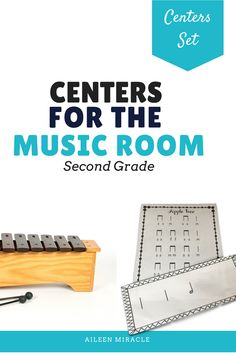 Music Centers for 2nd grade: Lots of materials to implement centers for half note, re, and more!