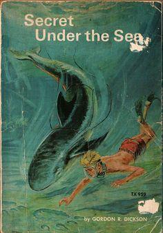 Secret Under the Sea - Gordon R. Dickson - Jo Ann Stover - 1973 - Vintage Book