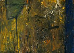 Milton Resnick, Runaway, 1958, oil on canvas, 59 x 59 in.