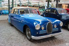 #bugatti #Type_46 #Saoutchik exposée à la #Cité de l'#Automobile, Collection #Schlumpf, de #Mulhouse. Article original : http://newsdanciennes.com/2015/07/16/on-a-teste-pour-vous-la-collection-schlumpf/ #Cars #Museum #Voiture #Ancienne #Classic