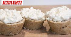 Mössöön tarvitaan vain kolme ainesosaa. Muffin, Breakfast, Food, Breakfast Cafe, Muffins, Essen, Yemek, Meals