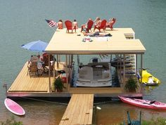 North Carolina Mountain Lake Dock - traditional - spaces - other metro - B Allen corp
