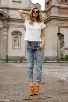 Most flattering jeans style for you.