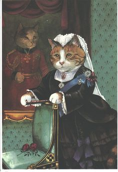 The Ultimate Vicotrian Cats - Susan Herbert by quiet_place, via Flickr