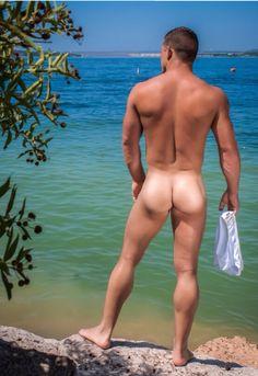 nackten mannlichen patch