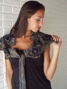 Las Lopez Knitted Scarf