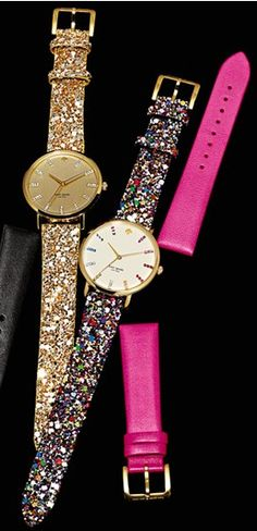 Kate Spade I have the black leather and red sparkly bands but would love any of the other bands! Or a different face!