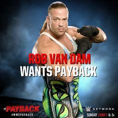WWE Payback 2014, Rob Van Dam