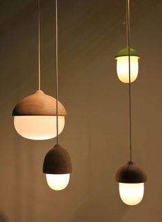Acorn-Like Lighting - Terho and Tatti by Maija Pouskari are Cute and Cozy (GALLERY)