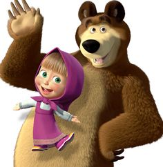 Masha e o Urso: tema da festa! - Guia Tudo Festa - Blog de Festas - dicas e ideias!