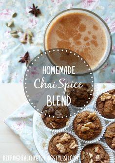 Recipe: Homemade Chai Spice Blend (Coconut Milk Chai Latte   Chai Pumpkin Muffins)