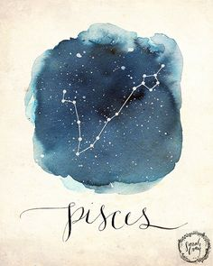 Hey, I found this really awesome Etsy listing at https://www.etsy.com/listing/254353214/pisces-print