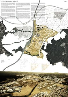Beauty in maps - HIC Arquitectura Architecture Mapping, Plans Architecture, Architecture Graphics, Architecture Drawings, Architecture Portfolio, Architecture Presentation Board, Presentation Layout, Project Presentation, Presentation Boards