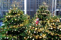 Les sapins de Noël du Cinq Codet : Les sapins féeriques des hôtels de luxe - Journal des Femmes