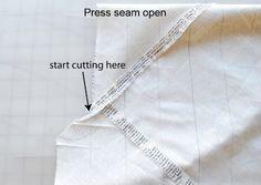 Turn one fat quarter into 5 yards of bias binding