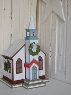 Christmas church SVGcuts