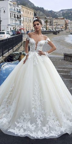 03db783862d Princess Wedding Dresses For Fairy Tale Celebration ☆ See more   https   weddingdressesguide