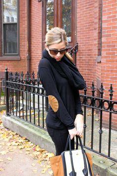 Elbow Patches – Wear Two Ways Wednesday www.threadsandmane.com