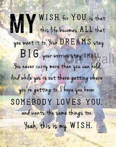 My Wish Lyrics By Rascal Flatts