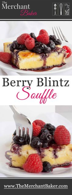 A lightly sweetened cheese blintz soufflé topped with a sweet blueberry syrup and fresh raspberries. It's sort of like a breakfast cheesecake! Great for the brunch crowd! (Grilling Recipes For A Crowd) Breakfast Cheesecake, Breakfast Recipes, Dessert Recipes, Breakfast Potluck, Breakfast Plate, Brunch Recipes, Dessert Ideas, Appetizer Recipes, Desserts